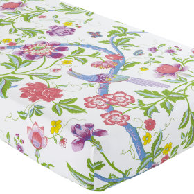 Crib Fitted Sheet (Multi Floral Print)