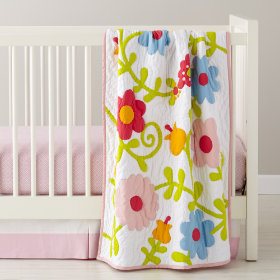 How Does Your Garden Grow Crib Quilt