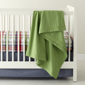 Pick Your Plaid Crib Bedding (Blue)
