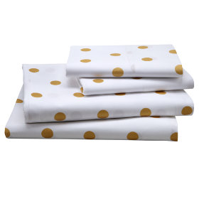 Dot Sheet Set (Gold)