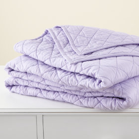 Moving Blanket &amp; Sham (Lavender)