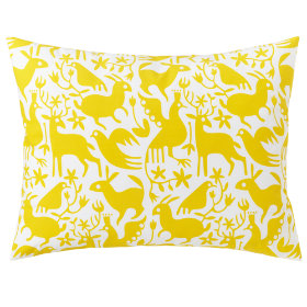Animáles Grafico Sham (Yellow)