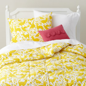 Animales Gráficos Bedding (Yellow)