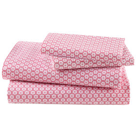 Little Pink Flowers Sheet Set