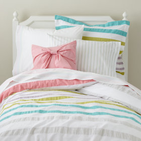 Sherbet Stripes Duvet Cover