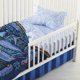 Transit Authority Toddler Sheet Set