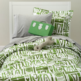 Hardware Included Duvet Cover
