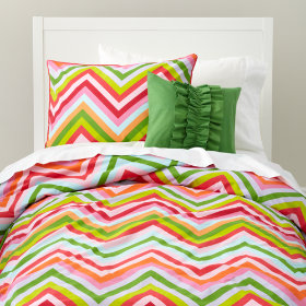 Watermelon Stripe Duvet Cover (Seedless)