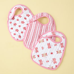 Pink Lookin Snappy Bibs Set of 3