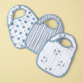 Blue Lookin Snappy Bibs Set of 3