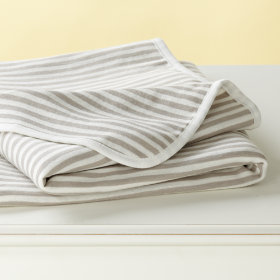 Mighty Stripe Blanket (Khaki)