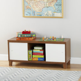 District 2-Door Storage Bench