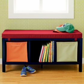 3-Cube Bench (Midnight Blue)