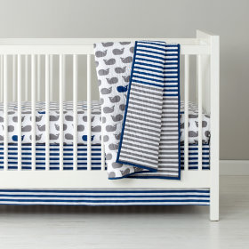 New School Crib Bedding (Make a Splash)