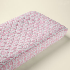 Changer Pad Cover (Pink Floral)