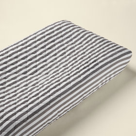 Changer Pad Cover (Dk. Grey Stripe)