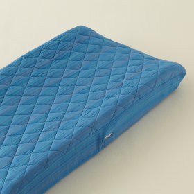 Pick Stitch Changer Pad Cover (Blue)