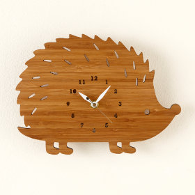 Hedgehog On Forest Time