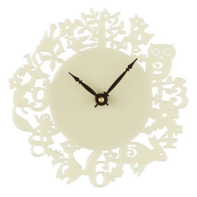 Fancy Forest Wall Clock
