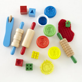 Shape, Model and Mold Clay Set
