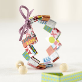 Snack Wrap and Roll Gum Wrapper Craft Kit