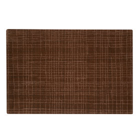 Crosshatch Rug (Brown)