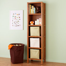 5-Cube Bookcase (Light Honey)