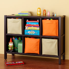 6-Cube Bookcase (Espresso)