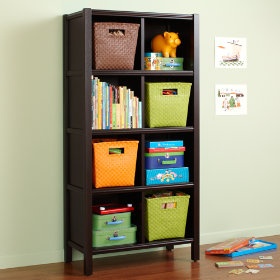 8-Cube Bookcase (Espresso)
