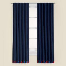 Come Fly with Me Curtain Panels