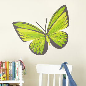 Fig. 1 Butterfly Decals (Emerald)