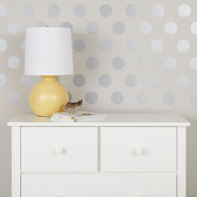 Lottie Dots Decal (Silver)