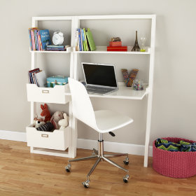 Little Sloane Leaning Desk (White)