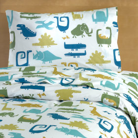 When Dinosaurs Roamed Duvet Cover