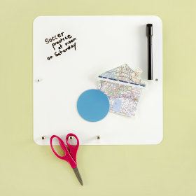 Hang On, Hang Up, Write Down Board (White)
