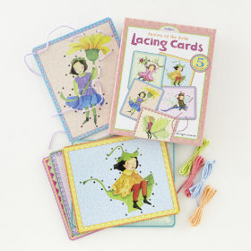 Fairies Lacing Cards