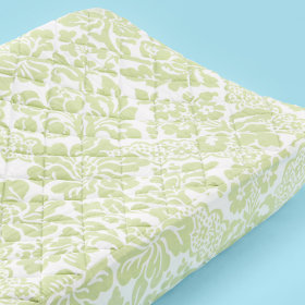 Changer Pad Cover (Green Floral)