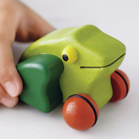 Kiss That Frog Push Toy