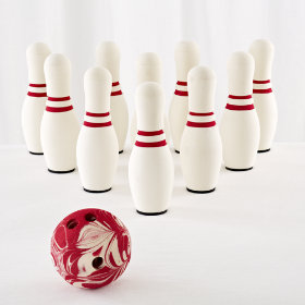Livingroom Lanes Bowling Set