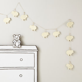 Counting Sheep Garland