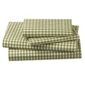 Green Gingham? Check. Sheet Set? Check