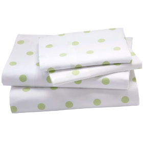 Dots Sheet Set (Green Pastel)