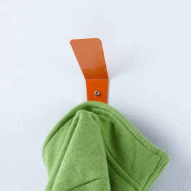 Every Which Way Wall Hook (Orange)