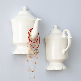 English High Tea Wall Decor (Set of 2)
