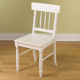 Jenny Lind Desk Chair (White)