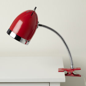 Now Clip it, Clip it Good Lamp (Red)