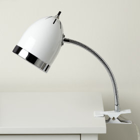 Now Clip it, Clip it Good Lamp (White)