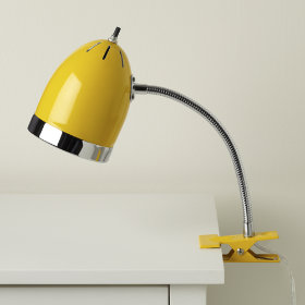 Now Clip it, Clip it Good Lamp (Yellow)