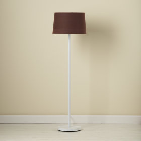 Chocolate Floor Shade (Shown with White Base)