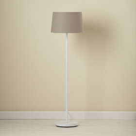 Grey Floor Shade (Shown with White Base)